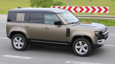 2021 Land Rover Defender 110 - V8 prototype - front view