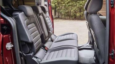 Ford Tourneo Connect MPV rear seats