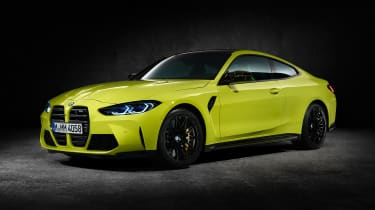 2021 BMW M4 Competition Coupe - front 3/4 static