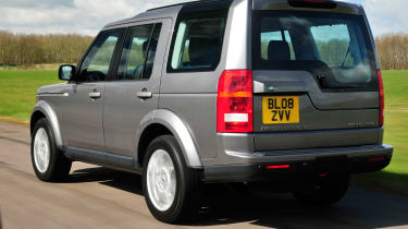 used land rover discovery rear