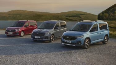 New Ford Tourneo Connect range