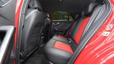 Audi SQ2 SUV rear seats