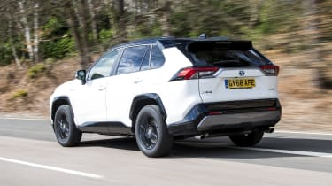 Toyota RAV4 - rear dynamic view