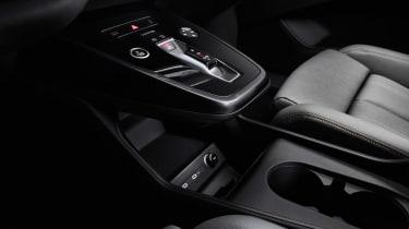 2021 Audi Q4 e-tron SUV centre console