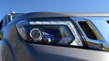Nissan Navara - front headlight