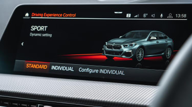 BMW M235i Gran Coupe saloon infotainment