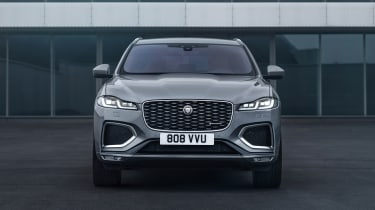 2020 Jaguar F-Pace - front on static view