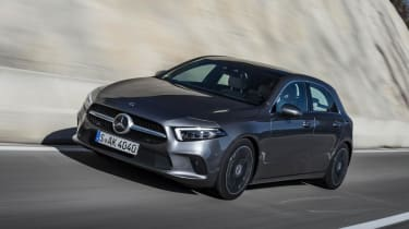Mercedes A Class - dynamic 3/4 driving