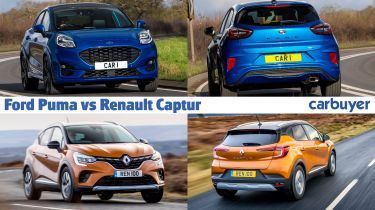 Ford Puma vs Renault Captur header