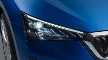 2019 Skoda Scala headlight