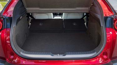 Mazda MX-30 SUV boot seats folded