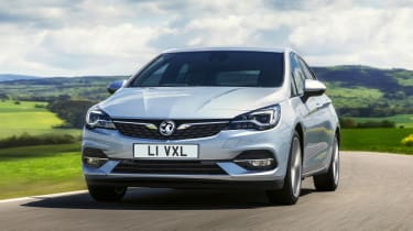 2019 Vauxhall Astra hatchback - front 3/4 dynamic