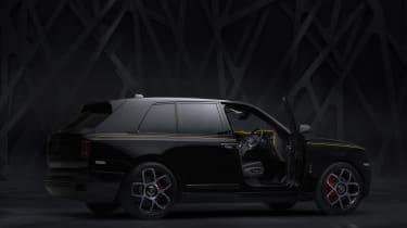 Rolls-Royce Cullinan Black Badge - door open