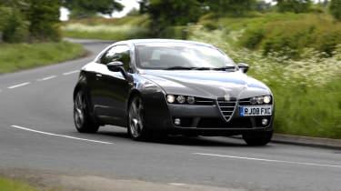 Alfa Romeo Brera - front 3/4 driving