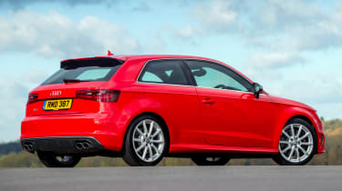There's also a high-performance S3 model with quattro four-wheel-drive and 306bhp