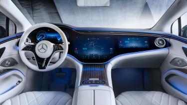 2021 Mercedes EQS interior