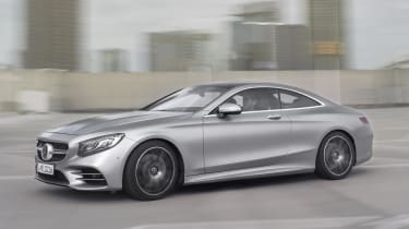 Mercedes S-Class Coupe – Swarovski headlights
