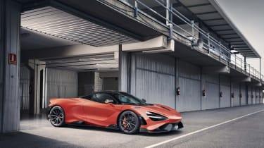 McLaren 765LT - front 3/4 view static