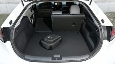 Hyundai Ioniq Plug-in Hybrid boot - one seat down
