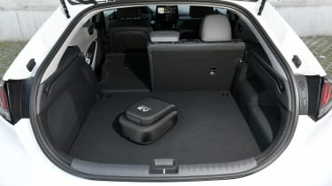 Hyundai Ioniq Plug-in Hybrid boot - one seat down