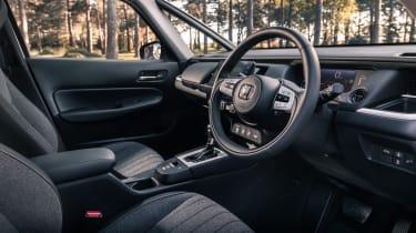Honda Jazz hatchback steering wheel