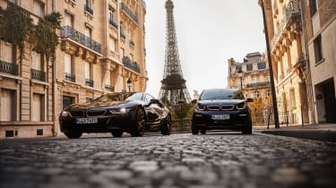 2019 BMW i8 Ultimate Sophisto Edition, 2019 BMW i3 Edition RoadStyle - front static