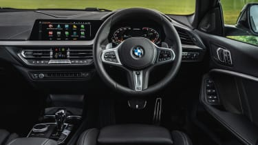 BMW M235i Gran Coupe saloon interior