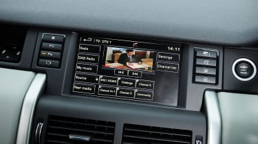 Land Rover Discovery Sport HSE interior infotainment