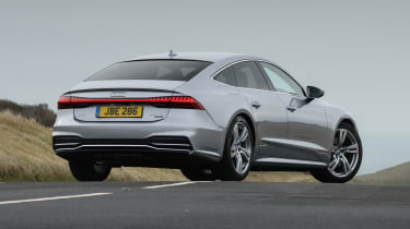 Audi A7 Sportback hatchback rear 3/4 static
