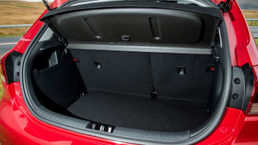 The Rio's 325-litre boot is a real advantage, trumping the VW Polo, Ford Fiesta and Vauxhall Corsa