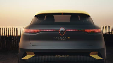 Renault Megane eVision concept rear end