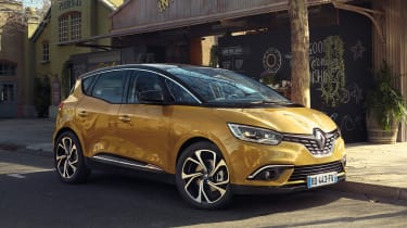The Renault Scenic's five-star Euro NCAP safety rating adds reassurance