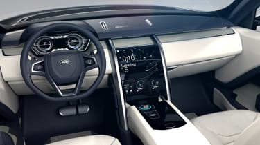 Land Rover Discovery SUV 2015 dashboard