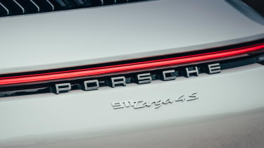 Porsche 911 Targa rear badges