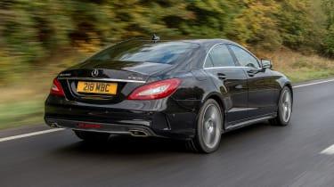 Mercedes CLS - rear 3/4 driving