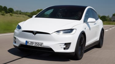 When it comes to performance, the Model X SUV isn't far behind the Model S