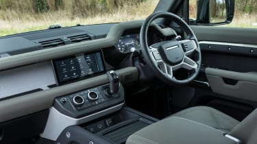 Land Rover Defender SUV interior
