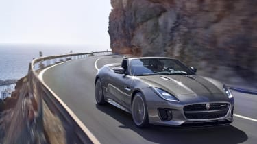As well as redesigned bumpers, all F-Types now get full LED headlights as standard.