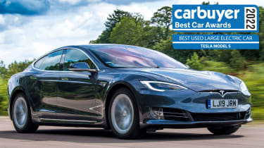 Best Used Large Family Electric Car: Tesla Model S
