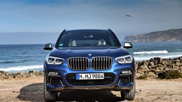 You can choose SE, xLine and M Sport models. xLine cars have styling designed to emphasise the X3's impressive off-road credentials
