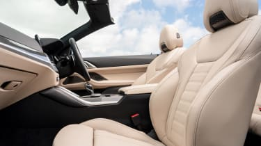 BMW 4 Series Convertible front seats