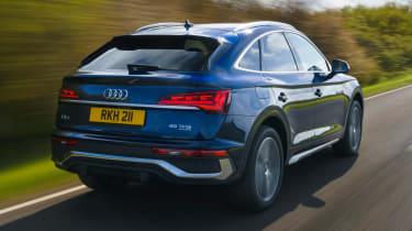 Audi Q5 Sportback SUV - rear 3/4
