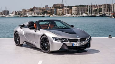 ...and the i8 Roadster takes it to the next level.
