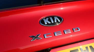 Kia XCeed hatchback tailgate