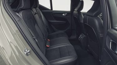 Volvo XC40 Recharge P8 SUV rear seats