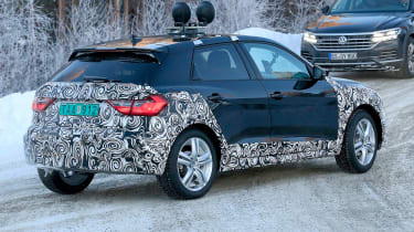 Audi A1 Allroad spy shot