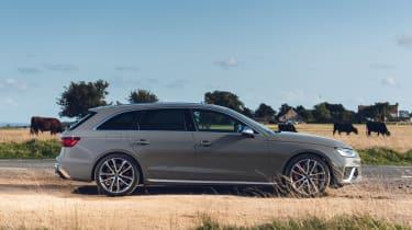 Audi S4 Avant estate side static