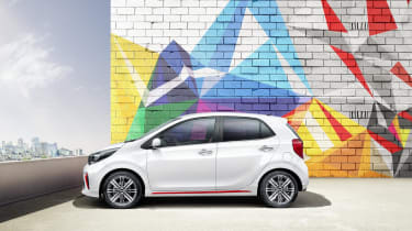 Despite being no longer than the outgoing model, the new Picanto will offer more interior space thanks to a longer wheelbase