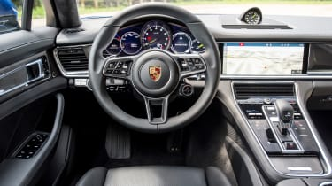 The dashboard is now less cluttered and features clear instruments and a large infotainment display