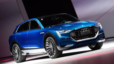 Audi Q6 e-tron will be all electric - although the name is yet to be confirmed